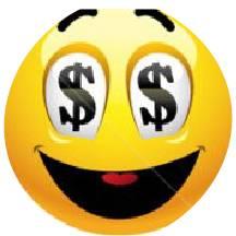 Youth account dollar sign emogi