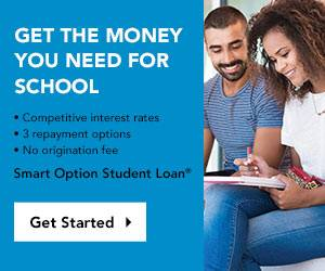 Students filling out a student loan application. Smart Option Student Loan.