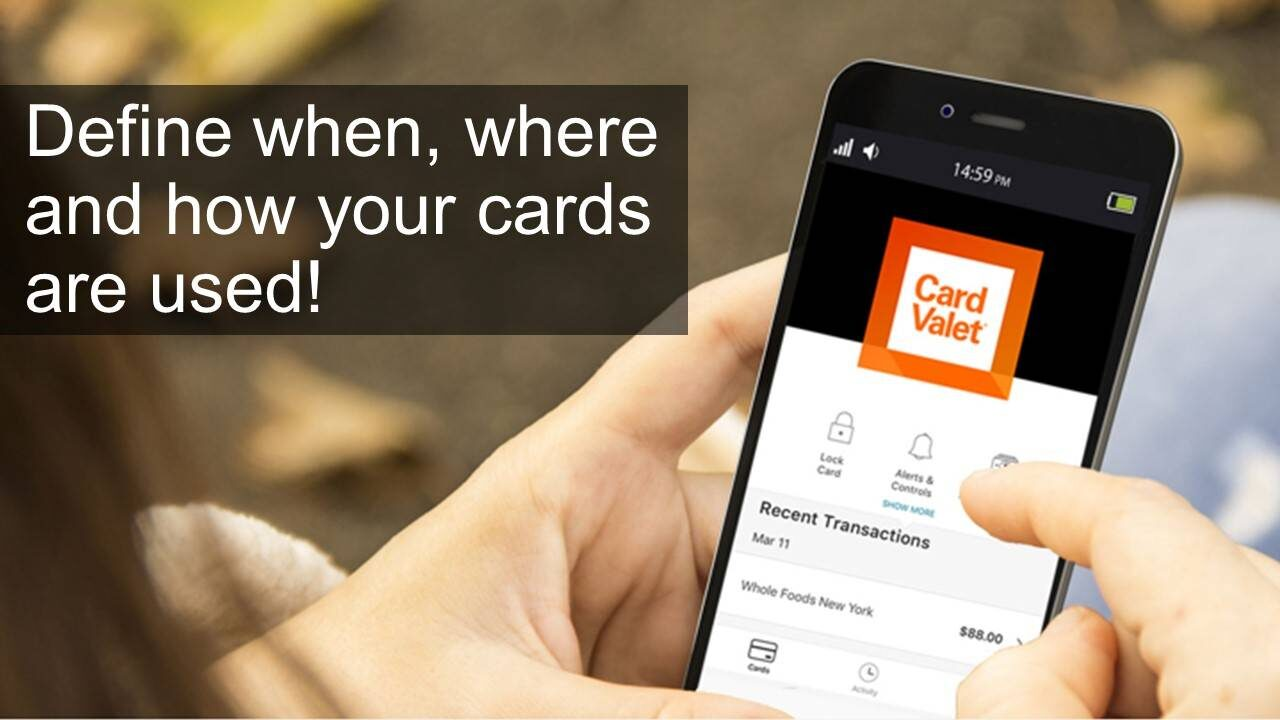 when, where and how your debit card is used - card valet